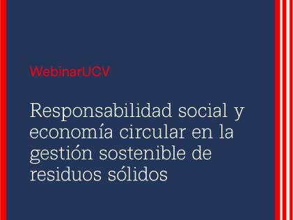Webinar UCV a cargo del Dr. Leoncio Sicha Punil